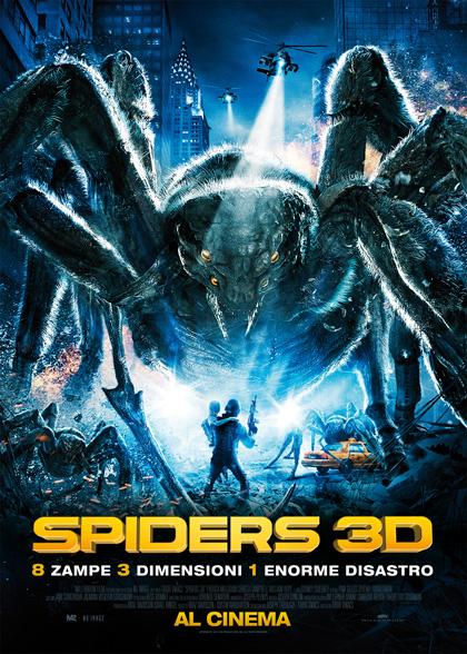 Locandina italiana Spiders 3D