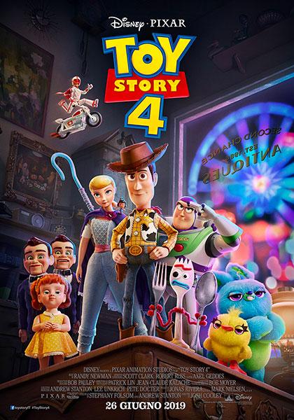 Locandina italiana Toy Story 4