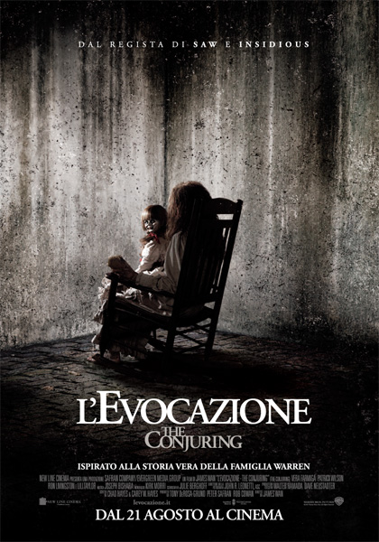 Locandina italiana L'evocazione - The Conjuring