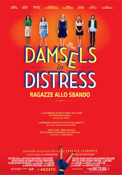 Locandina italiana Damsels in Distress - Ragazze allo sbando