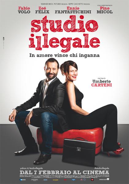 Locandina italiana Studio illegale