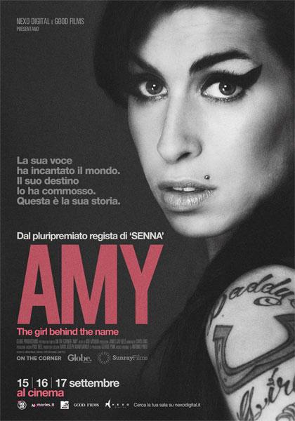 Locandina italiana Amy - The Girl Behind the Name