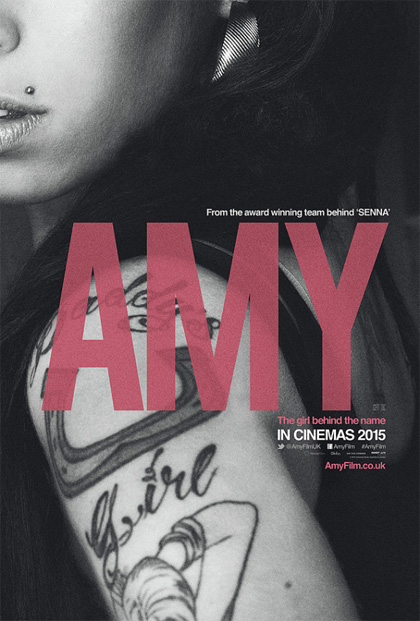 Poster Amy - The Girl Behind the Name