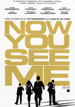 Poster Now You See Me - I maghi del crimine  n. 1