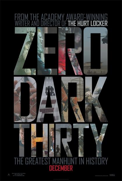 Poster Zero Dark Thirty