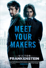 Poster Victor - La storia segreta del Dottor Frankenstein  n. 2