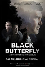 Poster Black Butterfly  n. 0
