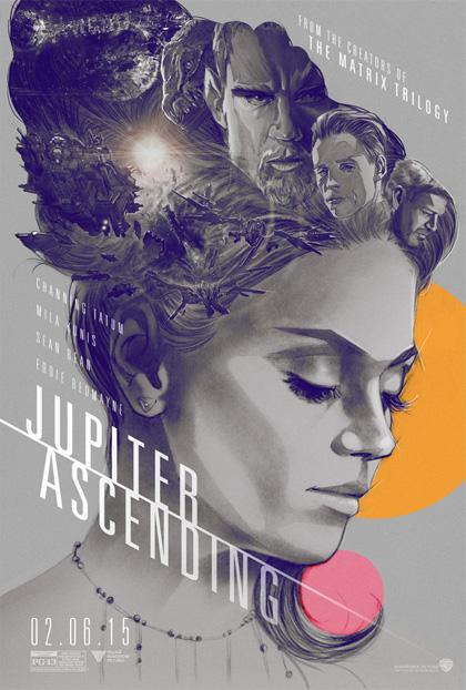 Poster Jupiter - Il destino dell'universo