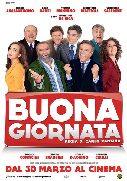 Locandina italiana Buona giornata