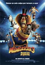 Locandina Madagascar 3: Ricercati in Europa