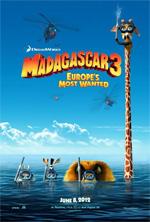 Poster Madagascar 3: Ricercati in Europa  n. 1