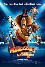 Poster Madagascar 3: Ricercati in Europa  n. 2