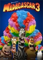 Poster Madagascar 3: Ricercati in Europa  n. 3