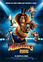 Poster Madagascar 3: Ricercati in Europa  n. 4