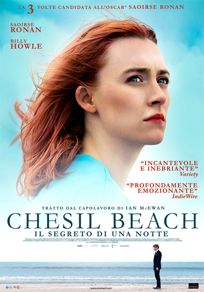 Locandina italiana Chesil Beach - Il segreto di una notte