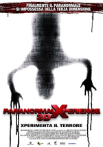 Poster Paranormal Xperience 3D  n. 0