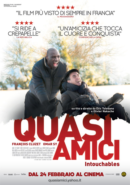 Quasi amici 2011 for Film sedia a rotelle 2018