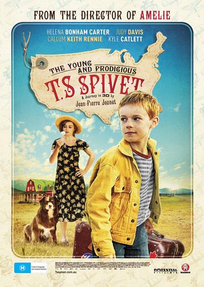 Poster Lo straordinario viaggio di T.S. Spivet