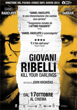 Poster Giovani ribelli - Kill Your Darlings  n. 0