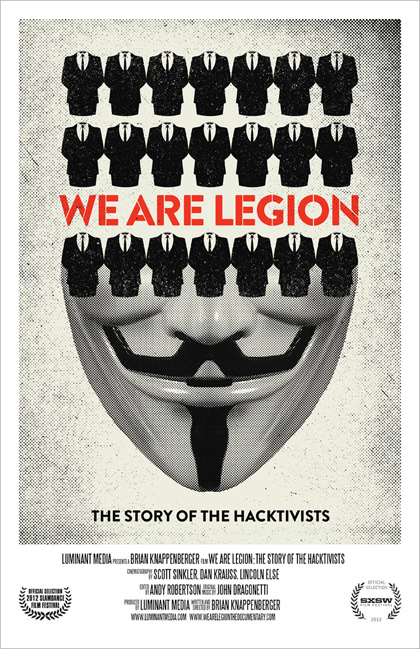 Trailer We Are Legion: The Story of the Hacktivists