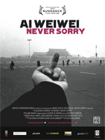 Poster Ai Weiwei - Never Sorry  n. 1