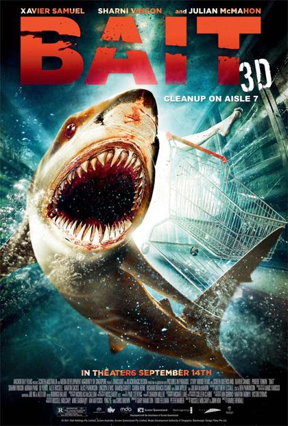 Poster Shark 3D
