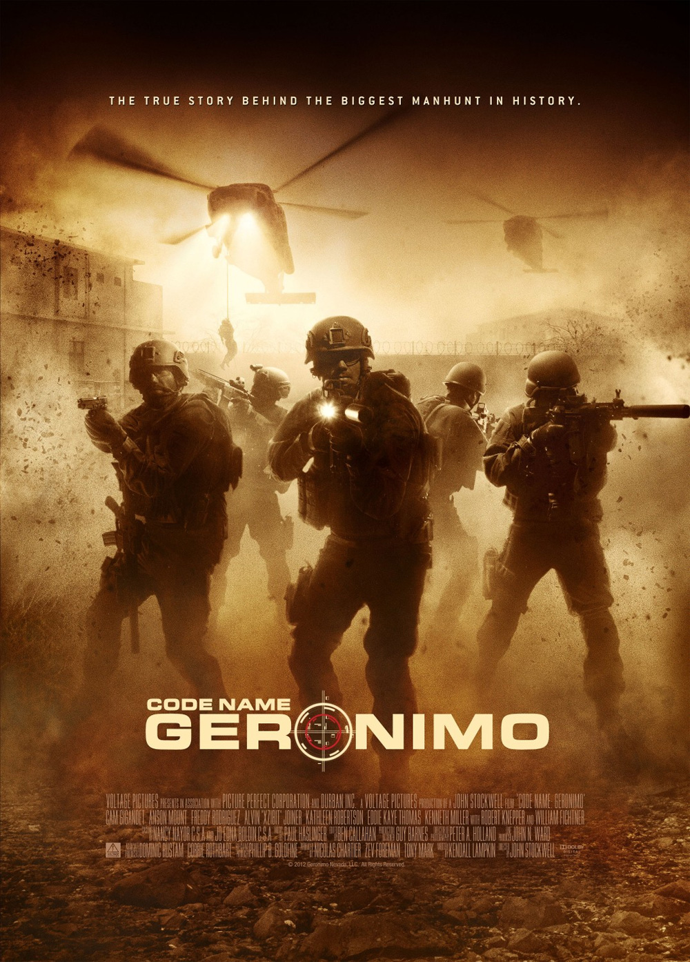 Poster Code Name: Geronimo