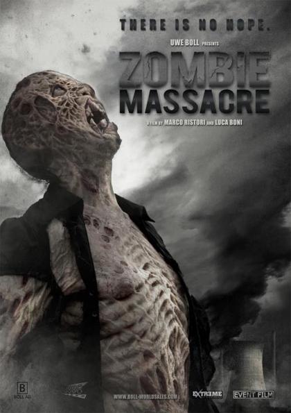 Locandina italiana Zombie Massacre