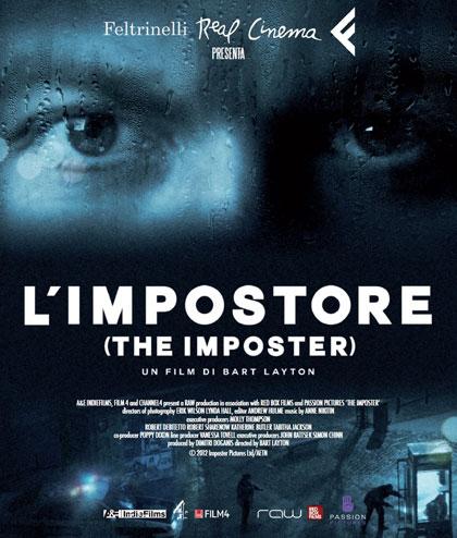 Locandina italiana L'Impostore - The Imposter