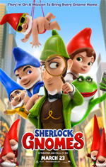 Poster Sherlock Gnomes  n. 9