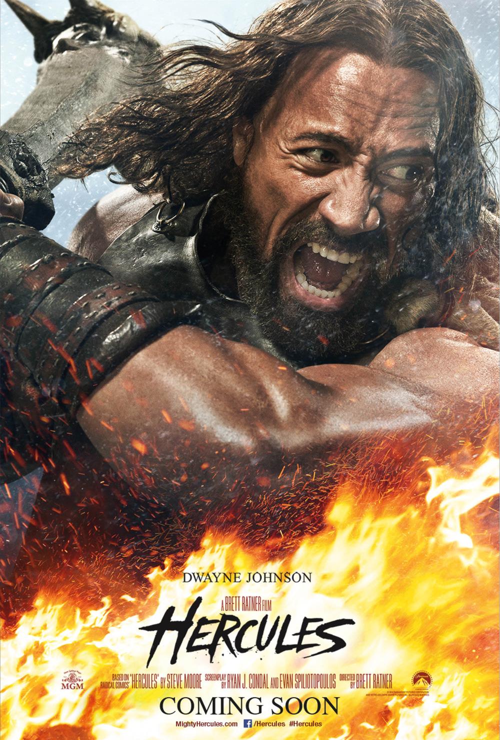 Poster Hercules - Il guerriero