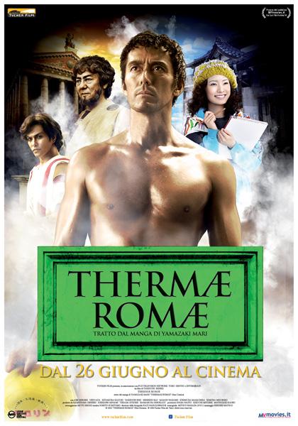 Locandina italiana Thermae Romae
