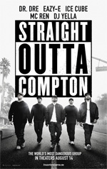 Poster Straight Outta Compton  n. 3