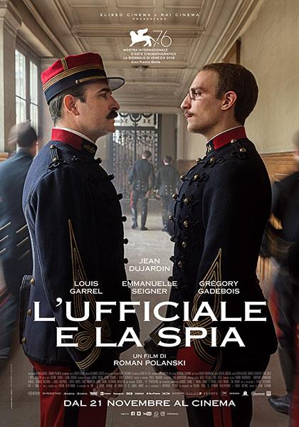 Locandina italiana L'Ufficiale e la Spia