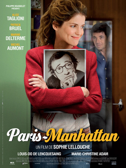 Locandina italiana Paris-Manhattan