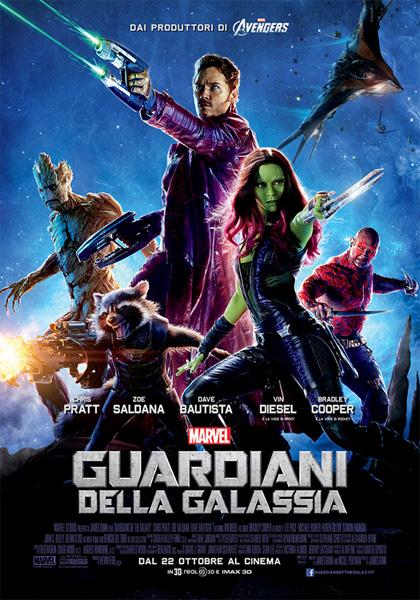 Risultato immagini per i guardiani della galassia  film