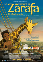 Locandina Le avventure di Zarafa - Giraffa Giramondo