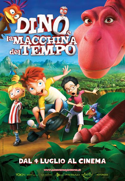 Locandina italiana Dino e la macchina del tempo