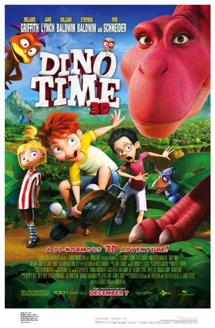 Poster Dino e la macchina del tempo