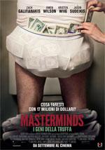 Poster Masterminds - I geni della truffa  n. 1