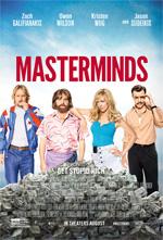 Poster Masterminds - I geni della truffa  n. 2