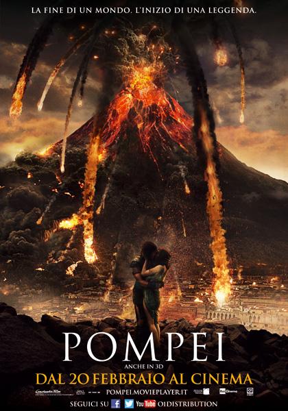 Locandina italiana Pompei