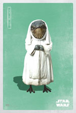 Poster Star Wars: Episodio VIII - Gli ultimi Jedi  n. 19