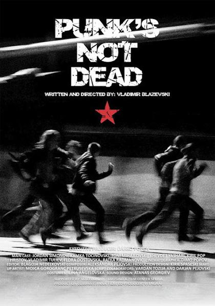 Locandina italiana Punk's Not Dead