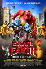 Poster Fuga dal pianeta terra  n. 1