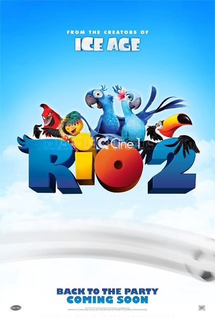 Poster Rio 2 - Missione Amazzonia
