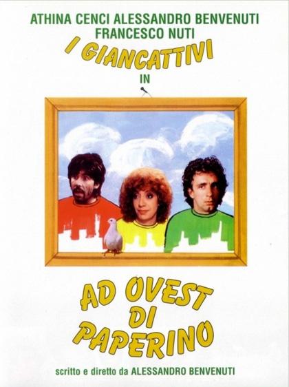 Locandina italiana Ad ovest di Paperino