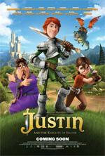 Poster Justin e i Cavalieri valorosi  n. 1