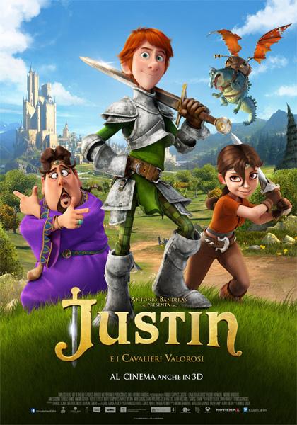 Locandina italiana Justin e i Cavalieri valorosi