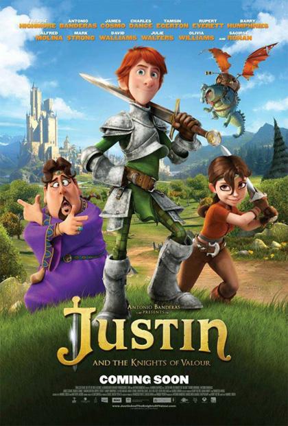 Poster Justin e i Cavalieri valorosi